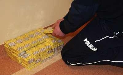 Zabezpieczyli ponad 4 tys. papierosów z przemytu