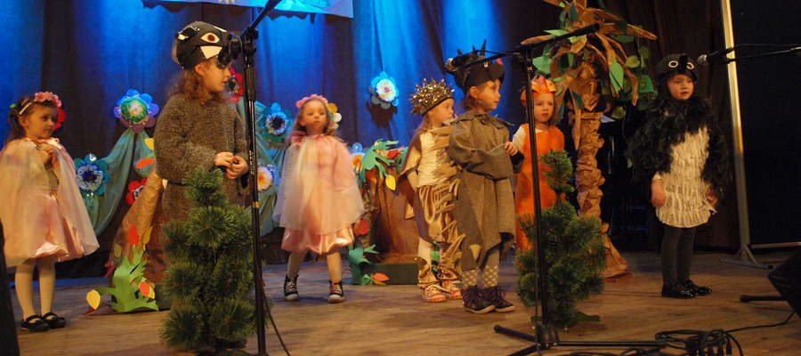 Grupa czterolatków z Lutocina