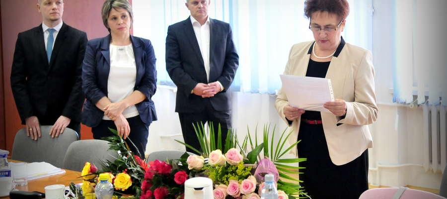 Maria Żołnowska została odwołana z funkcji skarbnika