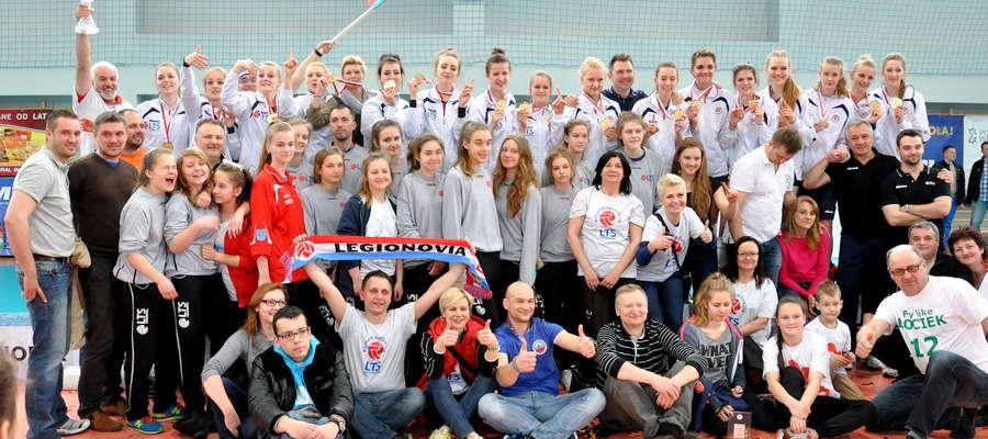 Drużyna Legionovii – mistrzynie Polski 2015