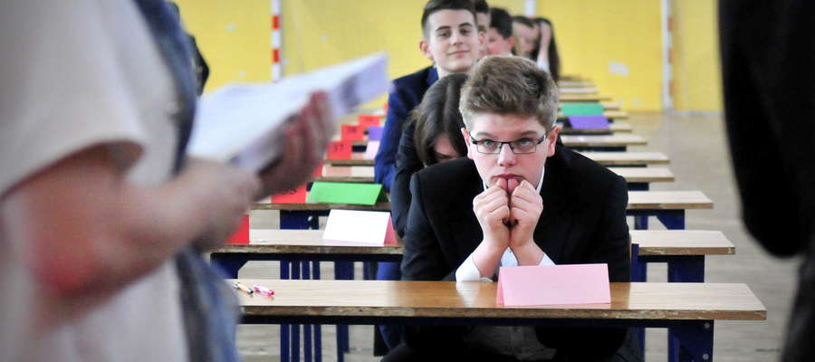 W gimnazjach to tydzień wielkiego stresu. Gimnazjum nr 1 wtorek godzina 9:00