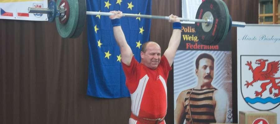 Jarosław Rutkowski, medalista Międzynarodowych Mistrzostw Polski Masters 2015
