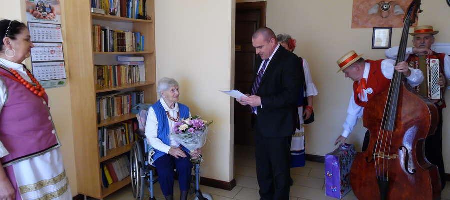 Emilia Lisowska skończyła 109 lat