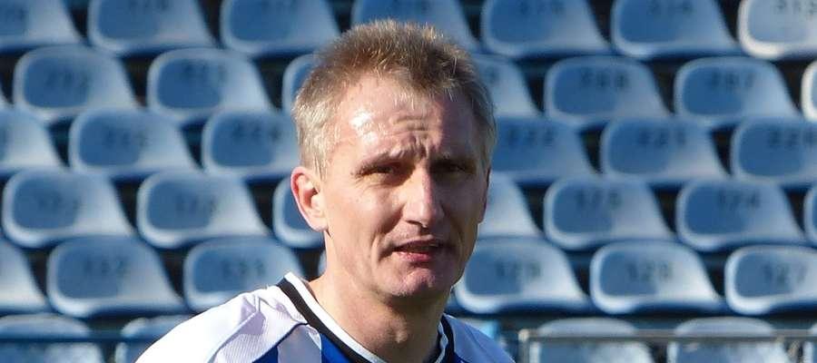 Trener Unii Susz Jarosław Płoski może być zadowolony z postawy swoich piłkarzy