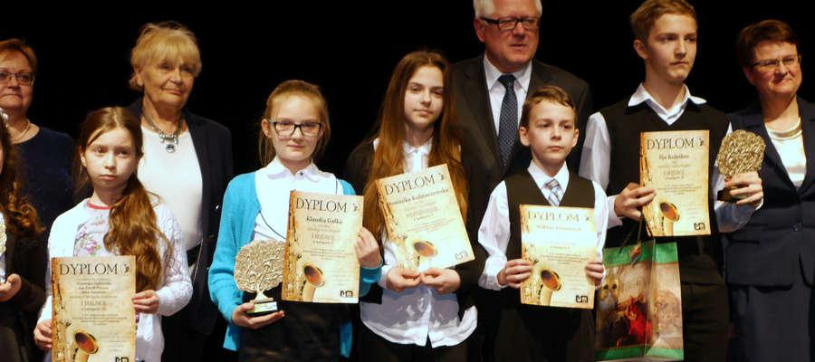 Uczniowie mrągowskiej Państwowej Szkoły Muzycznej I st. z sukcesami wrócili z XV Makroregionalnych Przesłuchań Instrumentów Dętych, który odbył się w Olecku