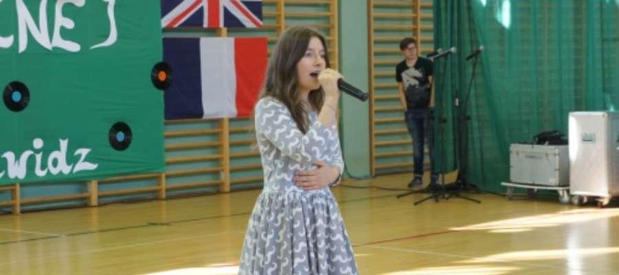 Joanna Budka śpiewa w Zawidzu