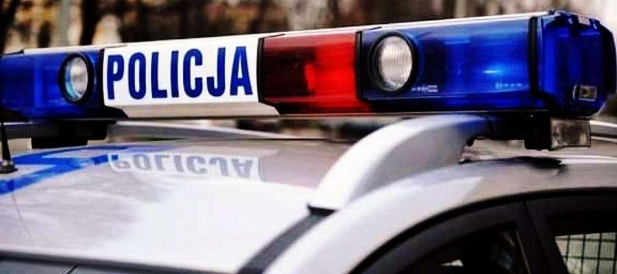 Wypadek na rondzie w Kalinowie. Ranny 9-latek w szpitalu.