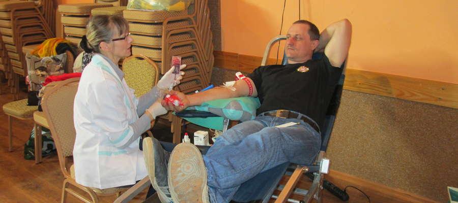Akcja krwiodawstwa w Baniach Mazurskich