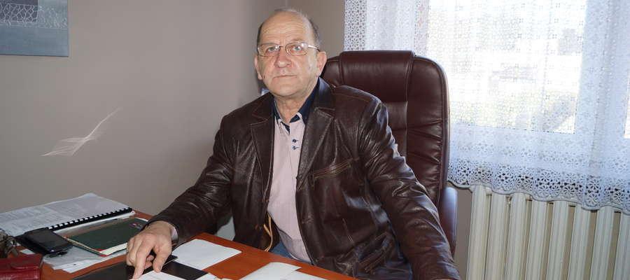 Dyrektor MOSiRu Grzegorz Kaszubski