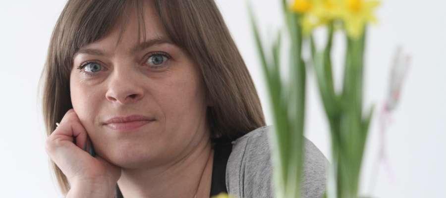 """Iwona Żochowska - Dyrektor Zarządzająca Fundacją """"Przyszłość dla Dzieci""""  Fot. Bartosz Cudnoch"""