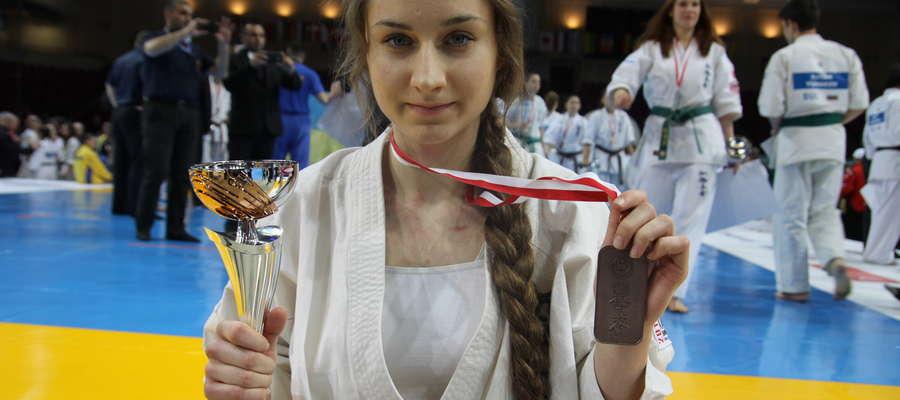 Joanna Czerniewska i jej brązowy medal za walki w mistrzostwach Europy juniorów