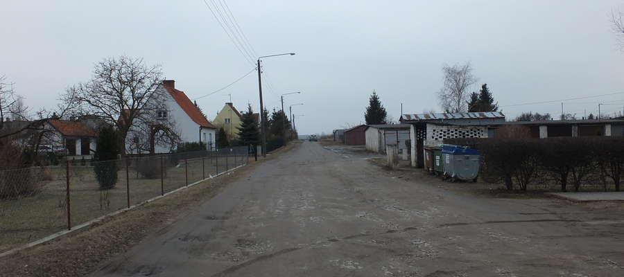 Ta droga w Korszach aż się prosiła o remont