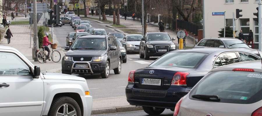 Uwaga kierowcy! Ul. Kościuszki w Olsztynie zostanie zwężona