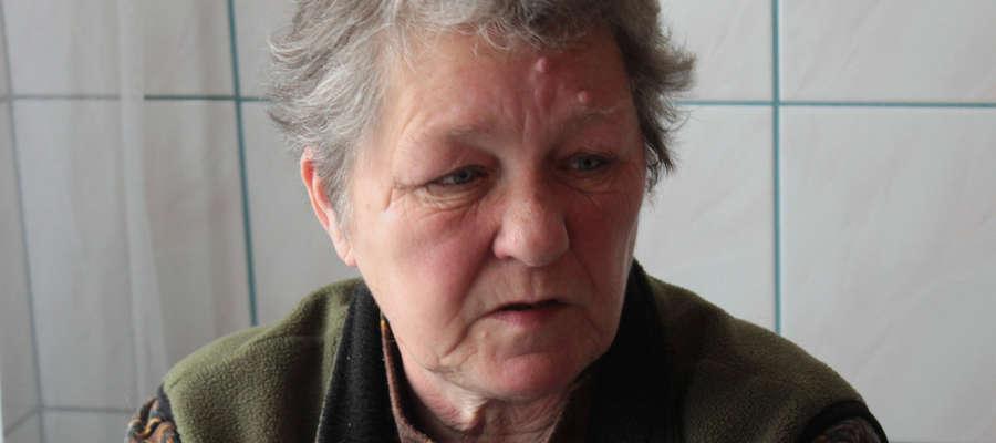 Żona zmarłego Teresa Miłek ma pretensje do lekarzy, że nie wykonali jej mężowi badań podczas pobytu w szpitalu.