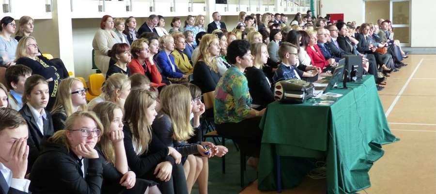 W spotkaniu uczestniczyli też uczniowie - gospodarze