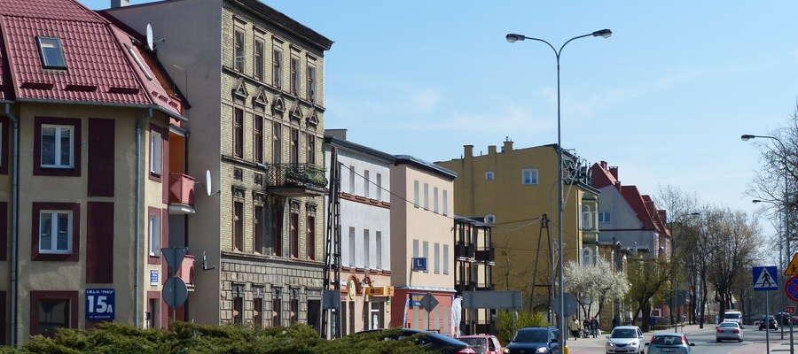 Ulica Kościuszki w Iławie