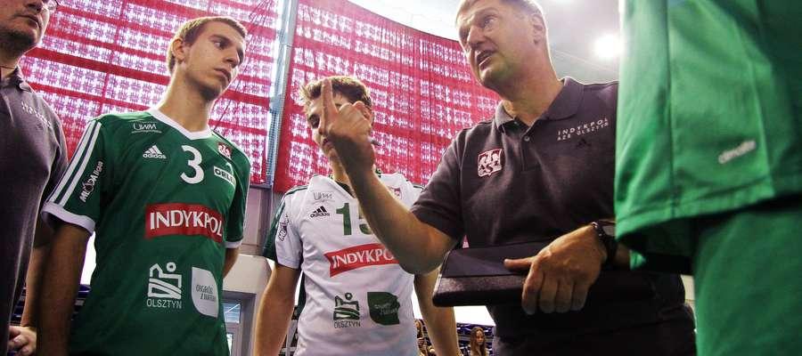 Olsztyńscy siatkarze pod kierunkiem trenera Macieja Rejznera drugi rok z rzędu rozgrywki Młodej Ligi zakończyli na piątym miejscu.