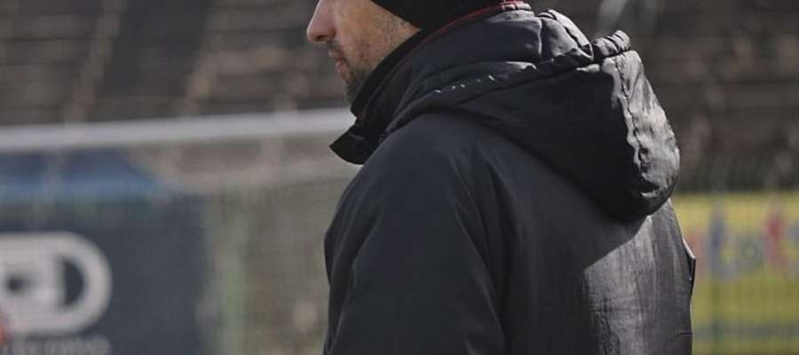 Trener Tomasz Aziewicz.