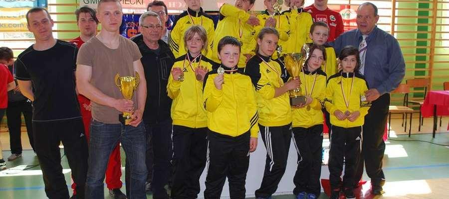 W Nawiadach odbył się Międzywojewódzki Turniej Zapaśniczy o Puchar Wójta Gminy Sorkwity