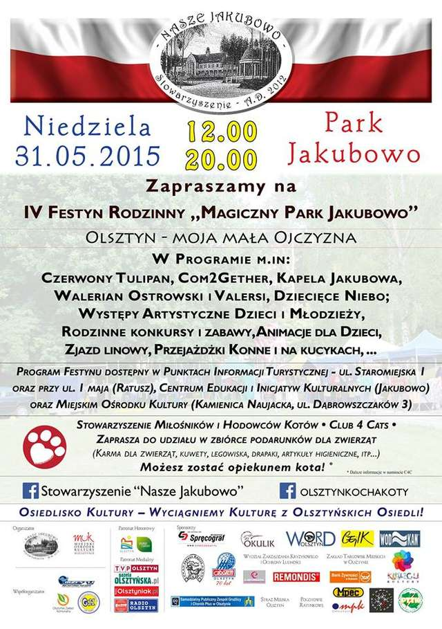 IV Festyn Rodzinny Magiczny Park Jakubowo - full image