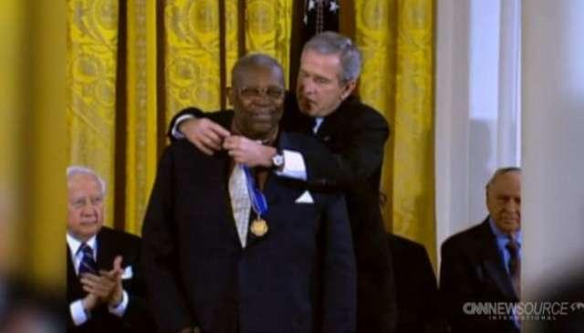 Nie żyje B.B. King zmagał się z cukrzycą. Król bluesa miał 89 lat - full image