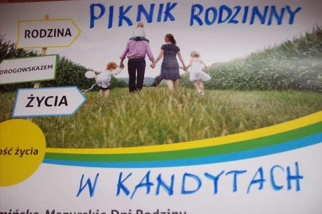 Piknik w Kandytach w ramach XVII Warmińsko-Mazurskich Dni Rodziny - full image