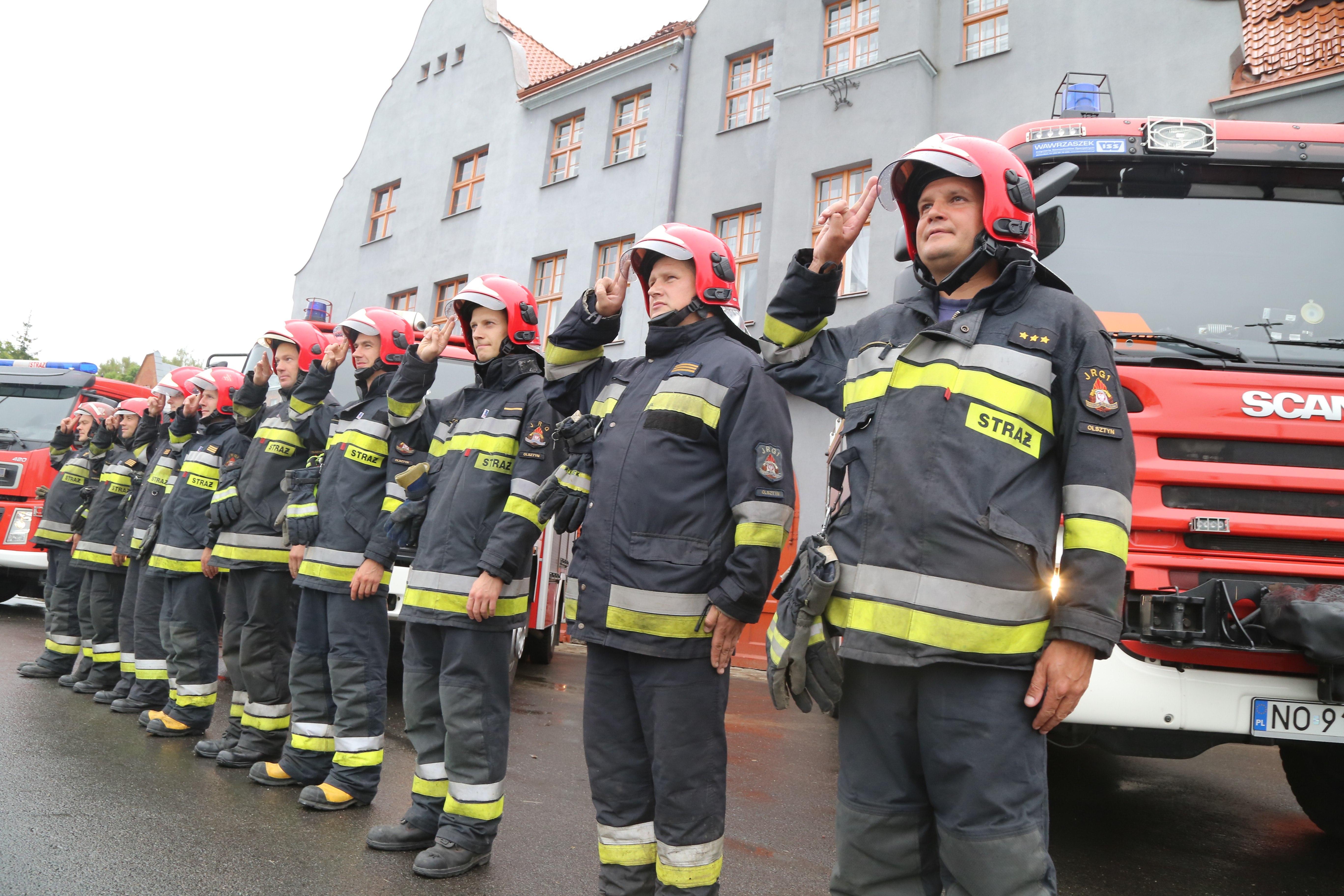 Straż pożarna w Olsztynie ma 70 lat! W sobotę uroczystości i festyn strażacki