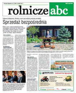 Rolnicze ABC - maj 2015