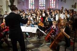 Finał warsztatów w 2014 roku podczas koncertu w kościele pw. św. Jerzego w Kętrzynie