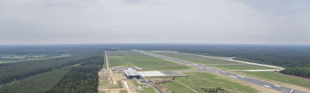 Droga do Portu Lotniczego Olsztyn-Mazury będzie gotowa we wrześniu