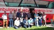 Na terenie OSP w Chorzelach miała miejsce akcja honorowego oddawania krwi.