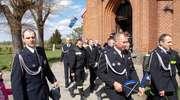 Dzień Strażaka w gminie Markusy. Msza święta, przejazd wozów strażackich i spotkanie w Krzewsku