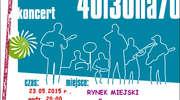 Koncert zespołu 40 synów i 30 wnuków jeżdżących na 70 oślętach