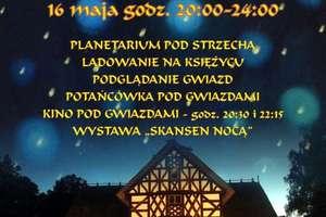 Noc Muzeów pod gwiazdami w Olsztynku