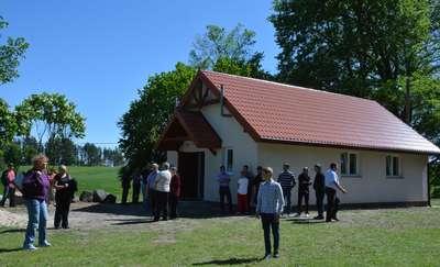 Uroczyste otwarcie świetlicy wiejskiej w Małym Olecku