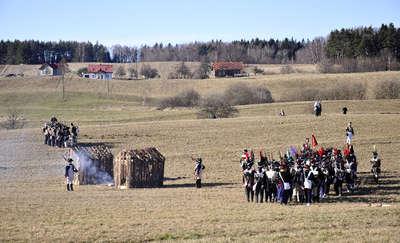 Wojska Napoleona stoczą walkę pod Olsztynem