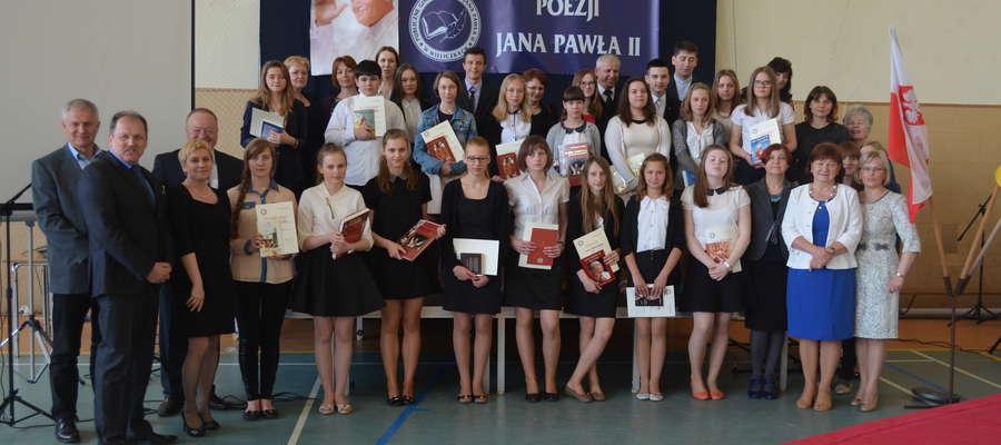 Konkurs Recytatorsko–Muzyczny Poezji Jana Pawła II w Wieliczkach