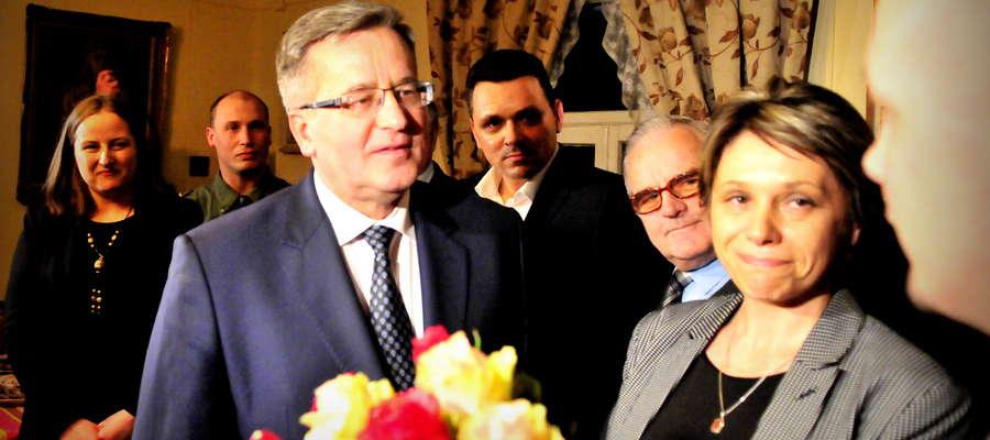 Bronisław Komorowski to jedyny kandydat, który odwiedził nasz powiat. Nie pomogło mu to wygrać u nas wybory