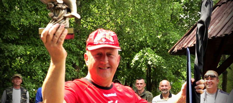 Zygmunt Liszewski Przewodniczący Rady Miejskeij w Bieżuniu zaprasza na zawody wędkarskie na Borek