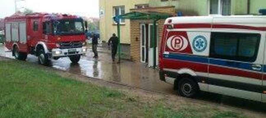 Do zdarzenia doszło przy ul. Ełckiej w Orzyszu