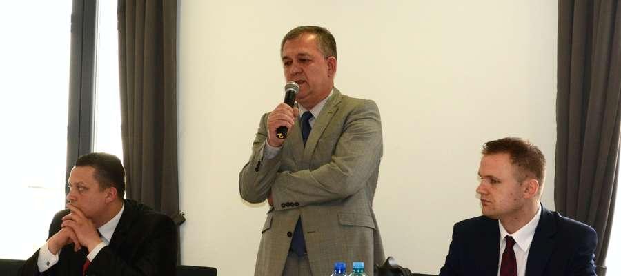 O budżet obywatelski podczas sesji pytał Jerzy Rakowski