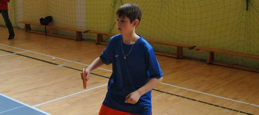 Jedynym przedstawicielem gminy Susz podczas Turnieju o Puchar TVP Olsztyn był uczeń SP Piotrkowo Jakub Kacprzak