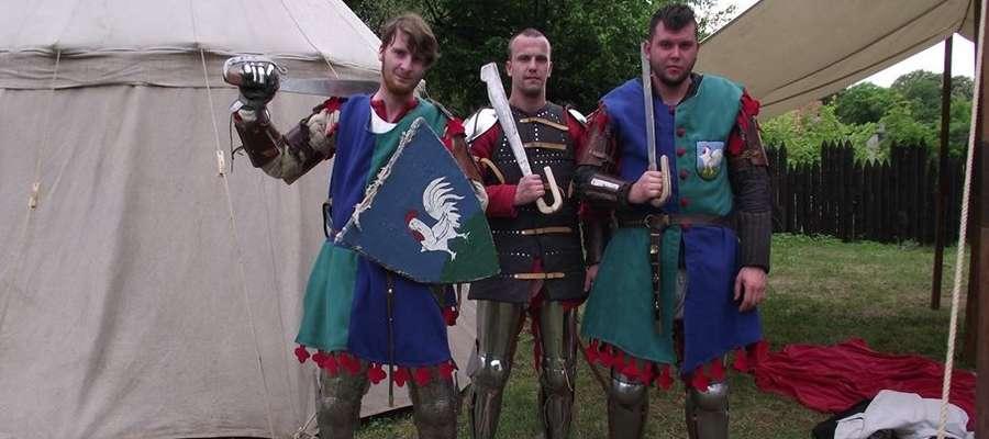 Członkowie kurzętnickiego Bractwa