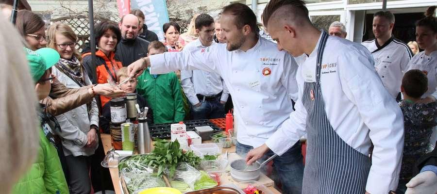 Ponad 40 kucharzy ze znanych programów walczyło o przepis na zdrowie Mai z Działdowa