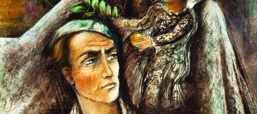 Obraz ze zbiorów Muzeum Powstania Warszawskiego (depozyt Kurii Metropolitalnej Warszawskiej)/ publikacja za zgodą rodziny Ireny Pokrzywnickiej
