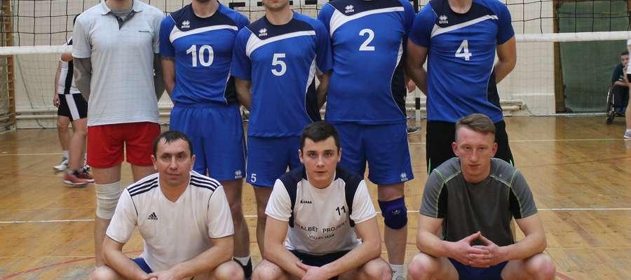 Team Cresovia Górowo Iławeckie podczas tegorocznej ligi w Pieniężnie