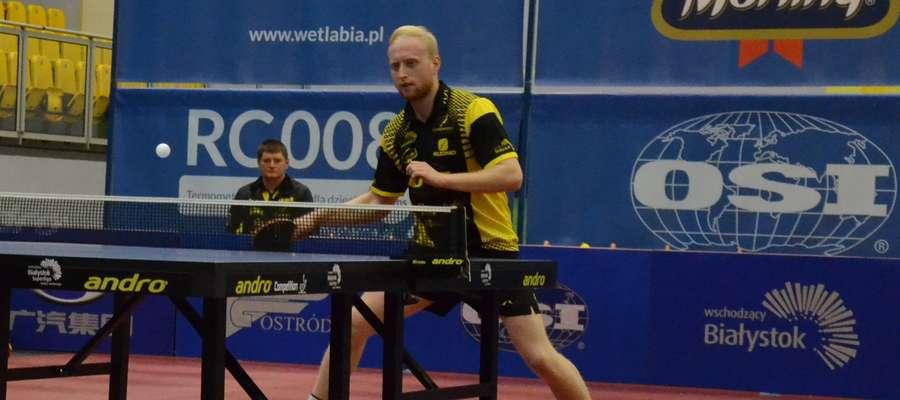 Zwycięski punkt na wagę występu w turnieju finałowym w Wenecji dla Morlin zdobył Michał Korycki