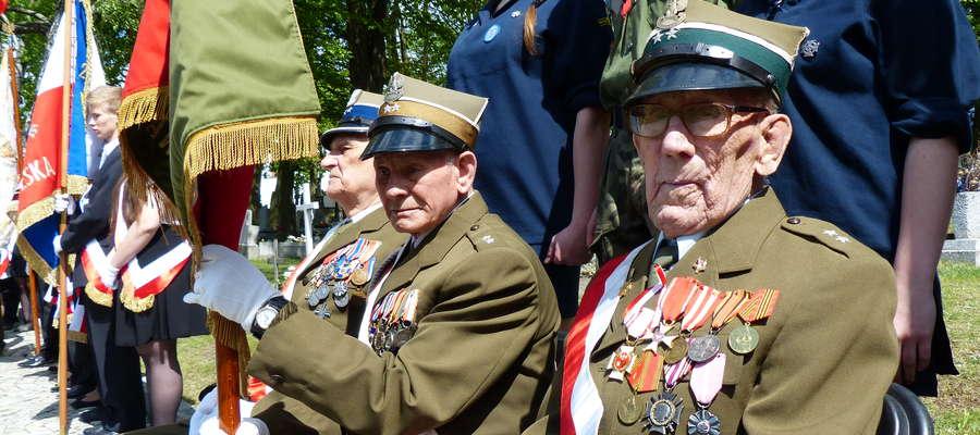 W uroczystościach brali udział także kombatanci wojenni