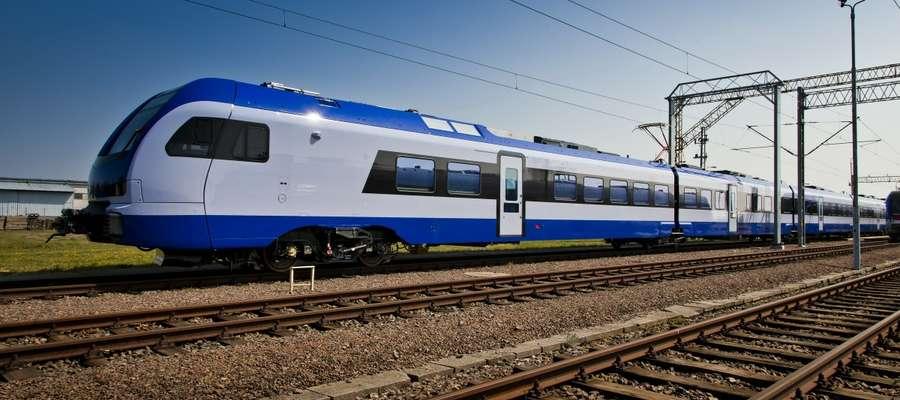 Nowy pociąg FLIRT3 w taborze PKP Intercity