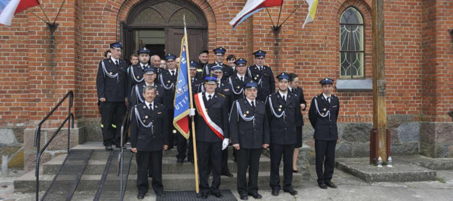 Strażacy z OSP Krutyń uczestniczyli w uroczystych obchodach Dnia Strażaka